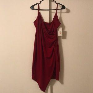 Zaful Bodycon Wrap Dress